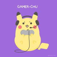 Gamer-Chu by pikarar