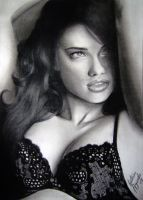 Adriana Lima portrait by gdvectors
