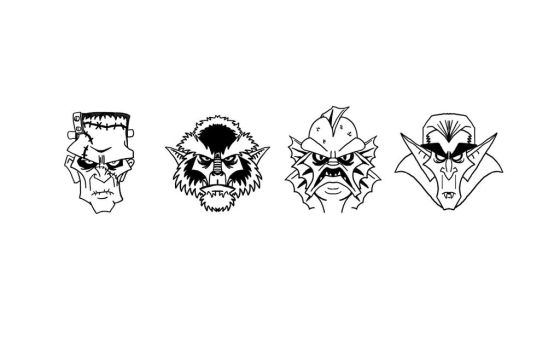 Monster Pin designs by TKrohne13