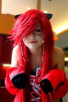 Corset, Neko Grell by Firawrfreak
