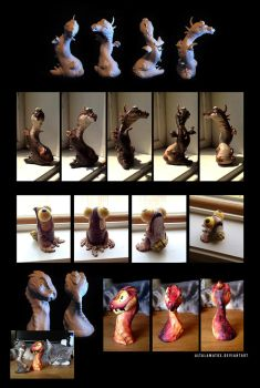 Clay Critters by Altalamatox