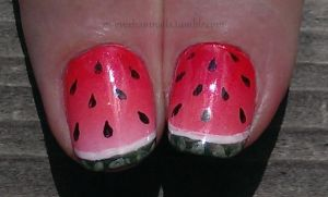 20140524 Watermelons 02 by m-everhamnails