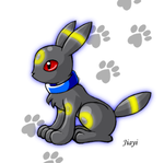 Chibi Umbreon by Jiayi