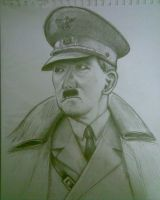 Adolf Hitler by solidx86