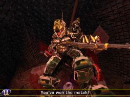 Me in Unreal tournament 2K4 by Greywolf37