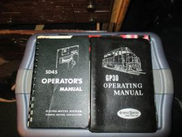 SD45 and GP30 Operator manuals by CharukuNova
