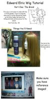 Edward Wig Tutorial: Pt. 1 by SakiRee