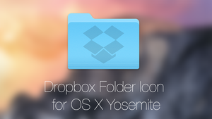 DropBox Folder Icon for OS X Yosemite by sc20k1