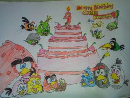 Happy Birthday Angry Birds! by lallilops02