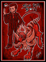 Crowley and Growley: The King of Hell's Partner by Blue-Fayt