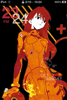 evangelion iphone theme by Opinionated92