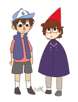 Clothes Swap: Wirt + Dipper by black-feather1013