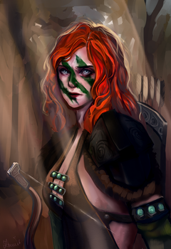 Aela the Huntress by Isolenta