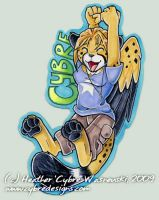 Anthrocon Badge :: Cybre by cybre
