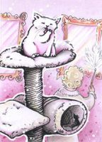 clean ACEO (Old maid -card game) by Nenu