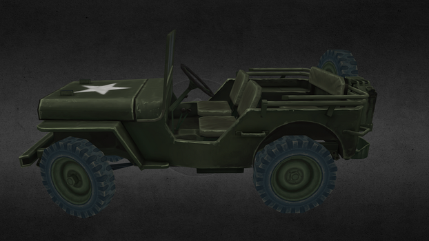 Willys Jeep by Zer0Frost