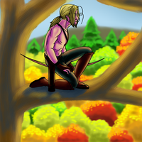 2p Hetalia: Excellent View by The-Kat-Warrior