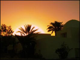 Sunset on Djerba 01 by garbo009