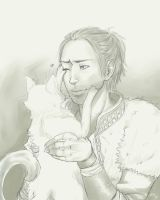 Anders and a Kitty Cat by Misuzee