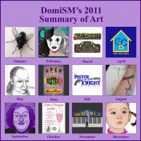 2011 Summary of Art by DomiSM