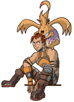 Reyn and Riki by Farore769