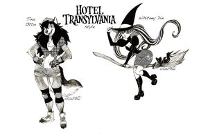 Hotel Transylvania style GamerWicca by twisted-wind