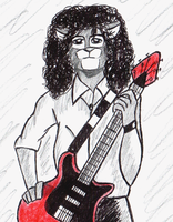 Brian May (These Are the Days of Our Live) by Goldyfox