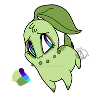 Stephanie The Chikorita by PuppytheKat