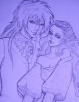 SArah and Jareth id by misschievious