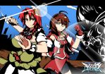Touhou VividDaybreak - Meiling and Reiha by Altronage