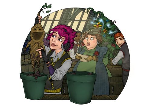 Dont Tickle the Mandrakes!!! by Awkwardly-Social