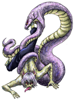 Kabuto Dragon Sage for Giant Naruto Collab by jesterry