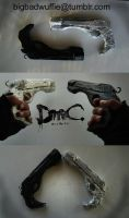 DmC Ebony and Ivory Cosplay Props by dinobot2000