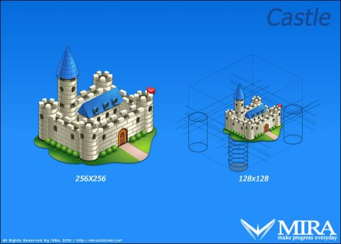 Icon design 'Castle' by silencemira