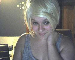 Cosplay wig test picture by EvilNghtmare