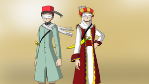 APH:Turkey and Ottoman by redcomic