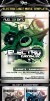 ELECTRO DANCE MUSIC FLYER TEMPLATE by MCerickson