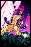 Wolverine Tokyo Cover by Jasen-Smith