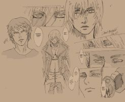 dmc sketches_part2 by MaqiChanThunder
