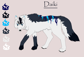 Daiki by KamiraWolfDemon