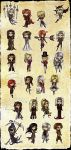 Castlevania stickers by CHA1N