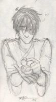Zuko and a Turtle Duck by CaptBexx