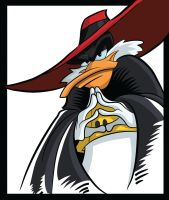 NegaDuck by drawfox5