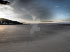 Normandy's Winter beach 3 by Olwaye