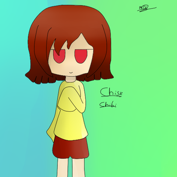 Chisk chibi by MielAbeja