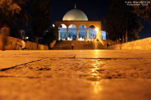 Dome Of Rock - Quds by Green-Des