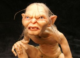 'Gollum' close up 1 by mellisea
