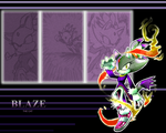 Blaze wallapaper by Faezza