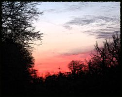 The quiet end of day by Nariane