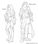 Marrovick and Ender: Redesign by emengel